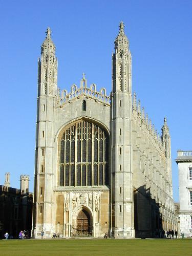 Cambridge 2000 king s college front court chapel