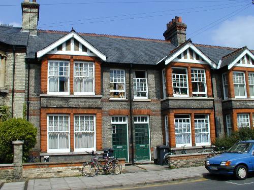 Las terrace houses son hileras de casas de dos o tres - Inglaterra en casa ...