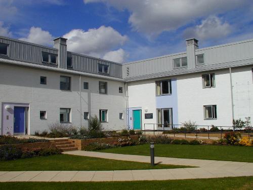 Cambridge 2000 Clare Hall West Court Paul Mellon Building