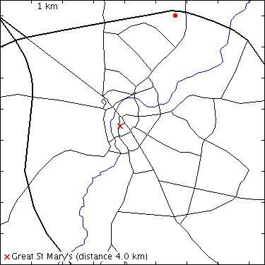 Image Result For Robinson College Cambridge Map
