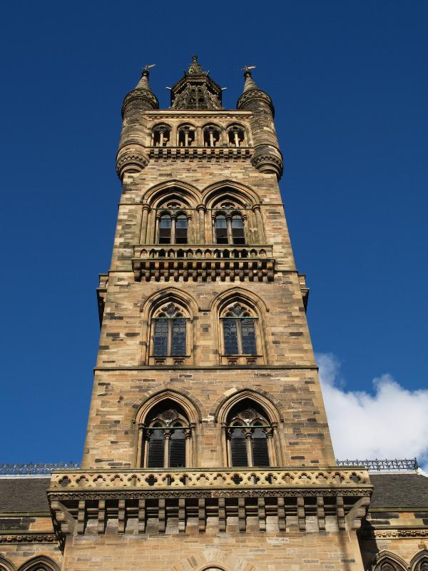 Gilbert Scott Building Glasgow University
