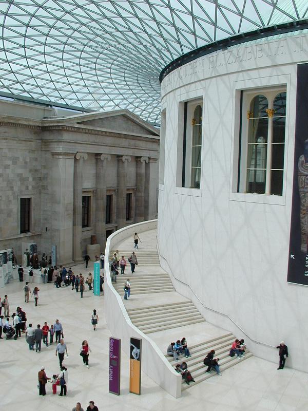 London england british museum great court for Buro happold london