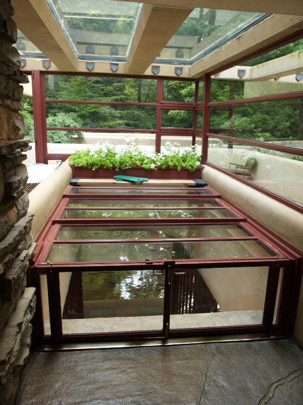 Mill Run Pennsylvania Fallingwater Living Room