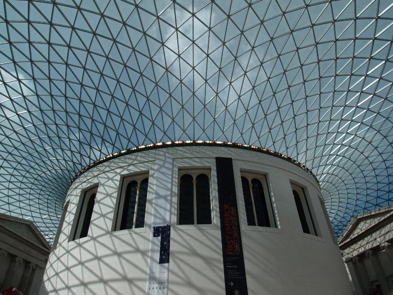 London england british museum great court roof for Buro happold london