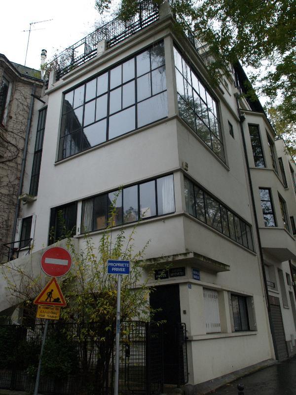 Paris France Maison Ozenfont 53 Avenue Reille View