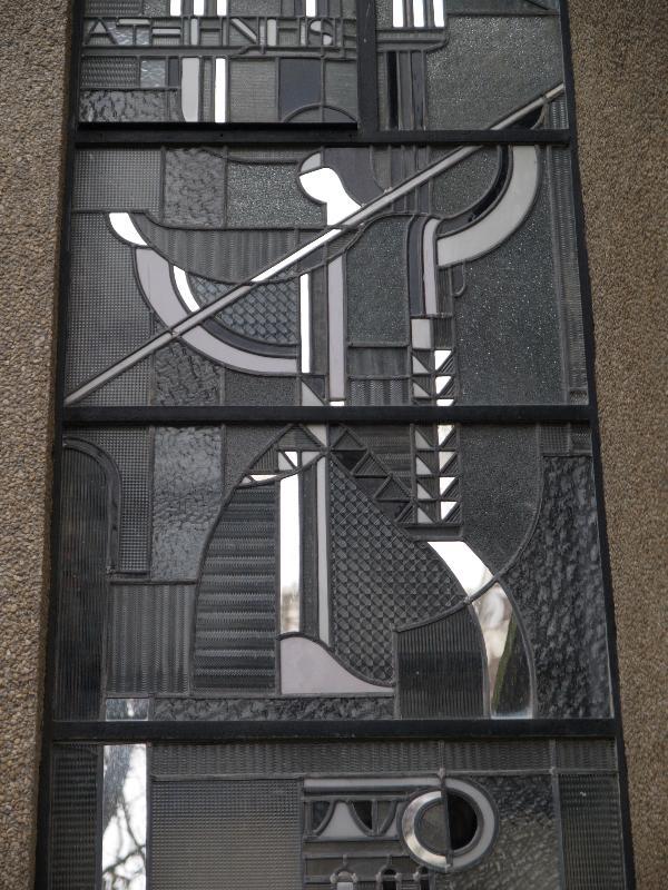 paris france atelier barillet 15 square de vergennes stained glass detail athena. Black Bedroom Furniture Sets. Home Design Ideas
