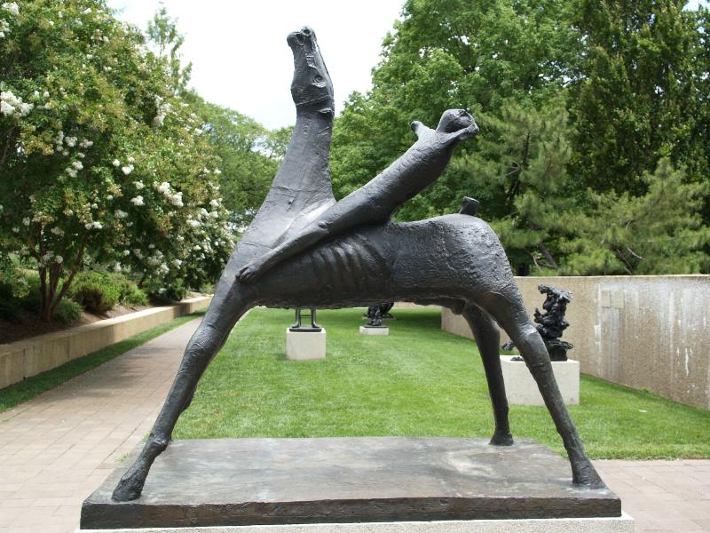 Washington Dc Hirshhorn Museum And Sculpture Garden Horse And Rider