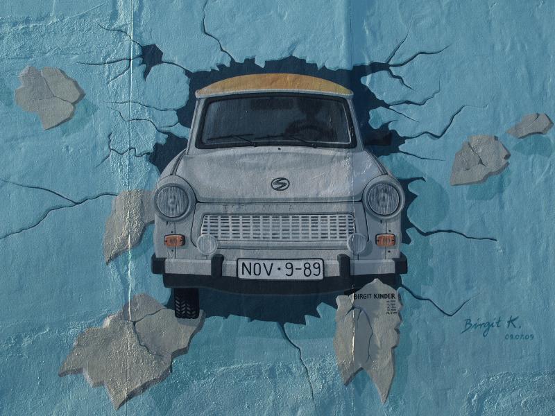 Berlim, Alemanha: East Side Gallery (Muro de Berlim): Testar o lazer (teste foi o melhor) (1990/1996/1998/2000/2009, Birgit Kinder)