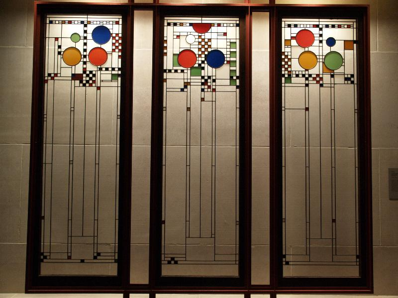 Museum Of Art Stained Gl Windows 1912 Frank Lloyd Wright